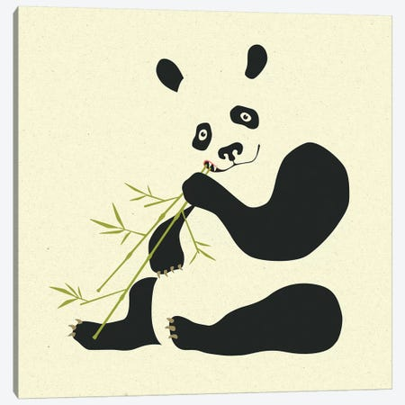 Panda II Canvas Print #JBL198} by Jazzberry Blue Canvas Art Print