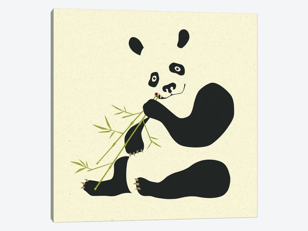 Panda II by Jazzberry Blue 1-piece Canvas Print