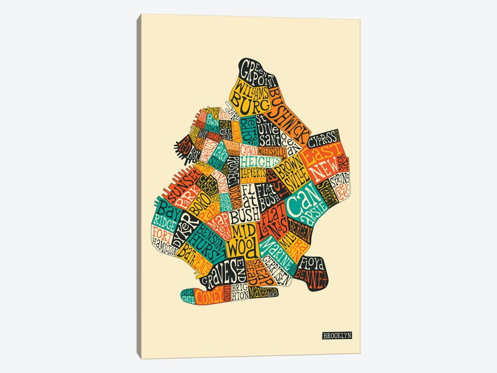 Brooklyn by Jazzberry Blue 1-piece Art Print