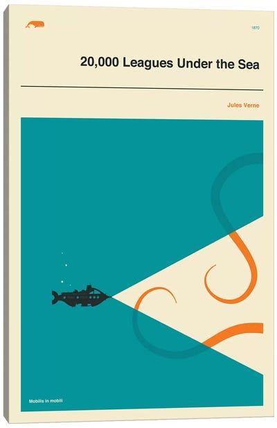 20,000 Leagues Under The Sea Canvas Art Print