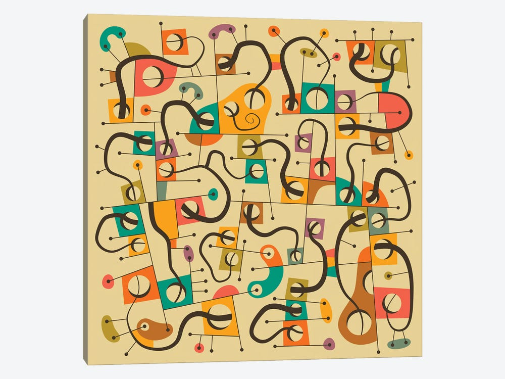 A Different World by Jazzberry Blue 1-piece Canvas Artwork