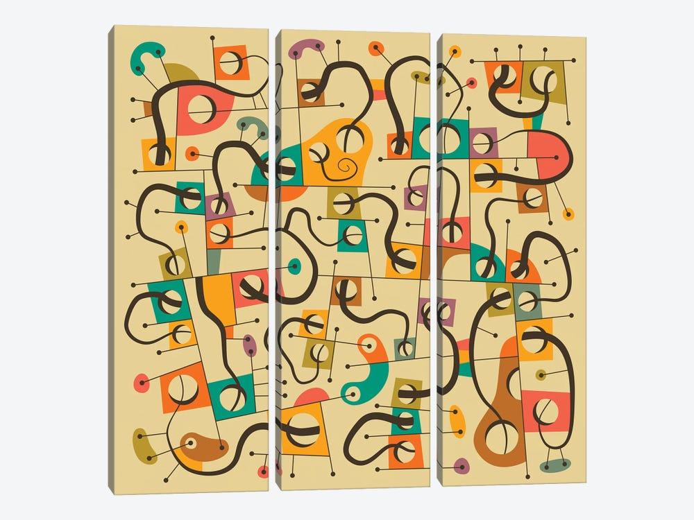 A Different World by Jazzberry Blue 3-piece Canvas Art