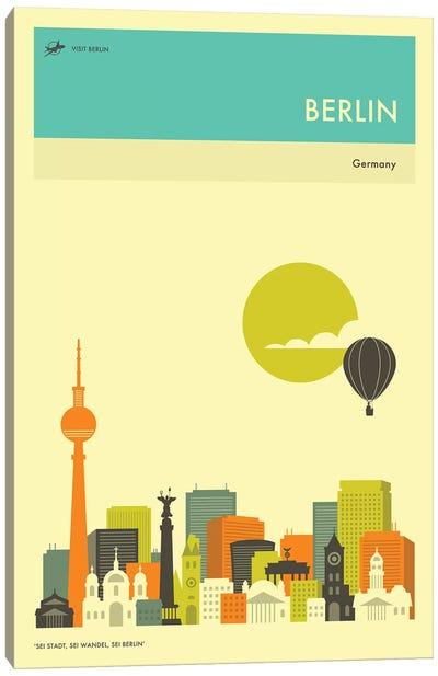 Berlin Skyline II Canvas Art Print
