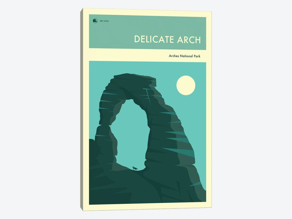Delicate Arch by Jazzberry Blue 1-piece Canvas Wall Art