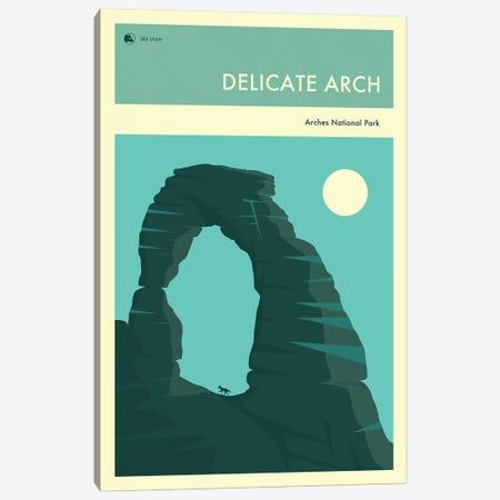 Delicate Arch Canvas Print #JBL248} by Jazzberry Blue Art Print