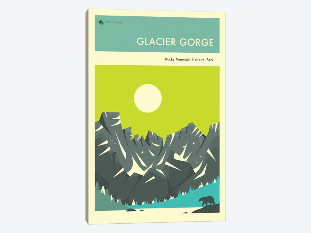 Glacier Gorge I by Jazzberry Blue 1-piece Art Print