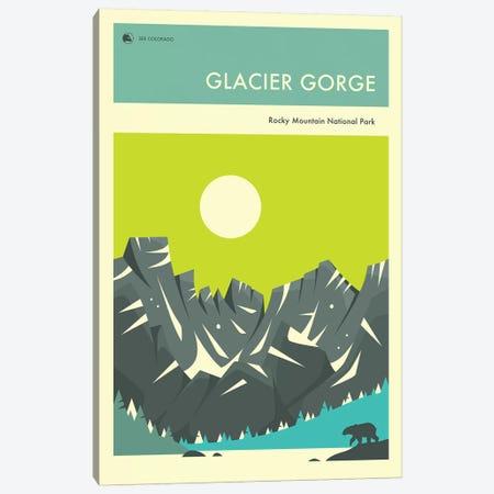 Glacier Gorge I Canvas Print #JBL256} by Jazzberry Blue Canvas Print