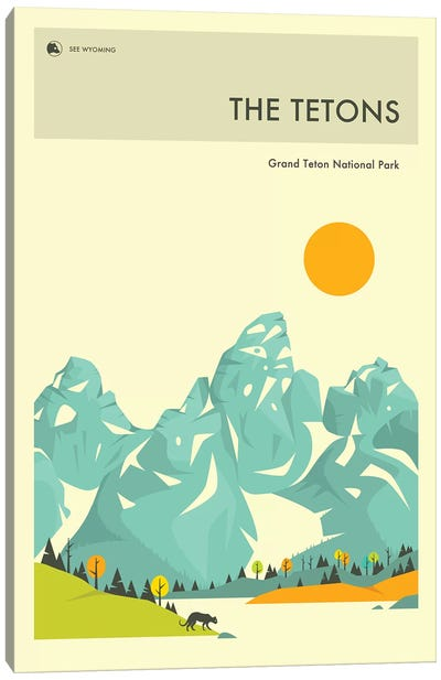 Grand Teton II Canvas Art Print