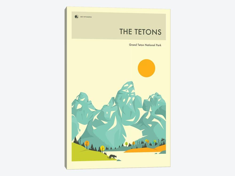 Grand Teton II by Jazzberry Blue 1-piece Canvas Print
