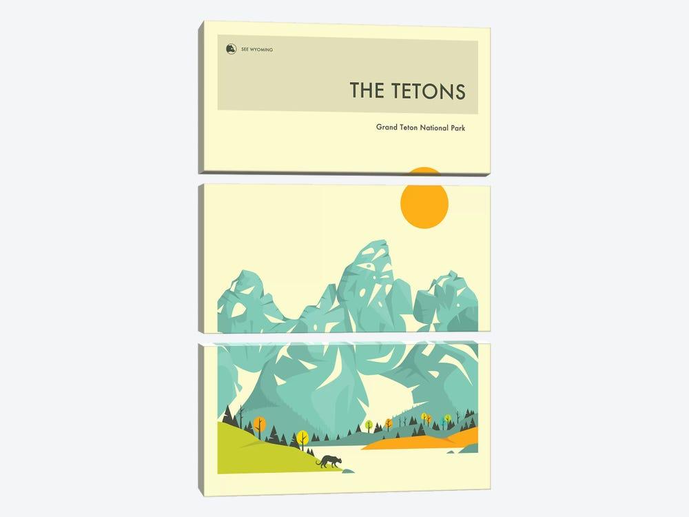 Grand Teton II by Jazzberry Blue 3-piece Canvas Print