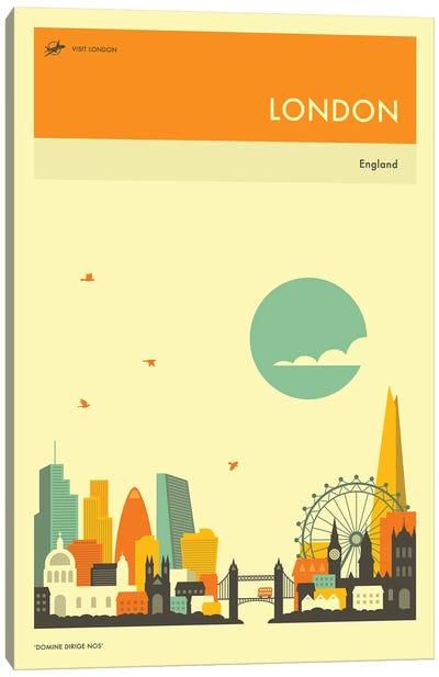 London Skyline II Canvas Art Print