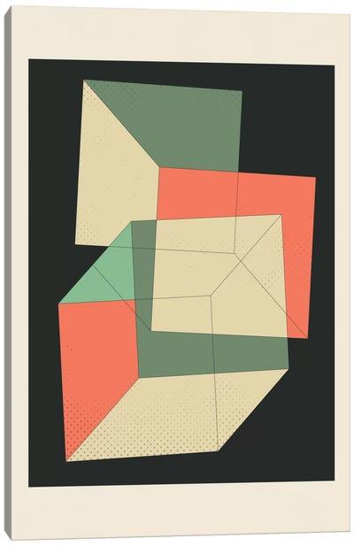 Cubes IV Canvas Art Print