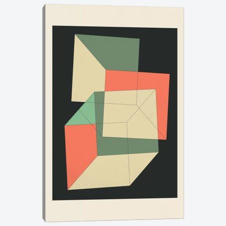 Cubes IV Canvas Print #JBL26} by Jazzberry Blue Canvas Wall Art