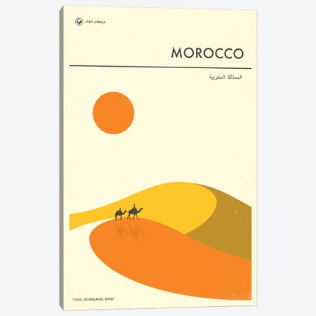 Morocco II Canvas Print #JBL270} by Jazzberry Blue Canvas Art