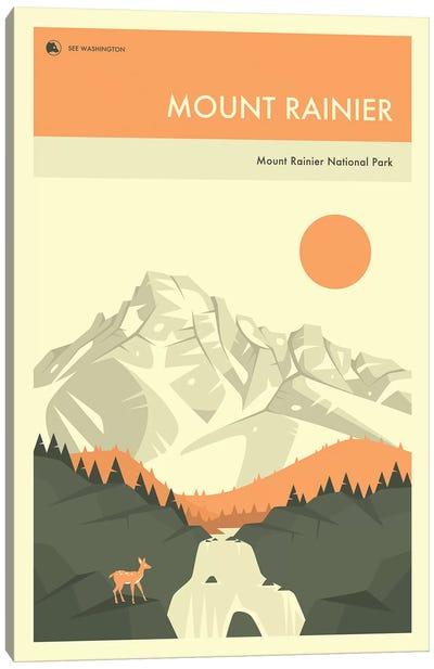 Mount Rainier Canvas Art Print