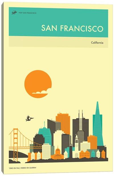 San Francisco Skyline II Canvas Art Print