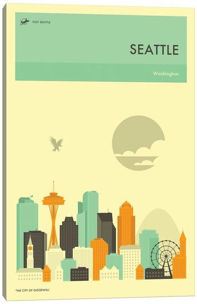 Seattle Skyline Canvas Art Print