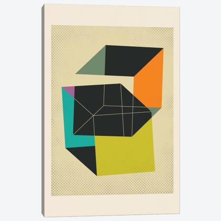 Cubes V Canvas Print #JBL27} by Jazzberry Blue Canvas Artwork