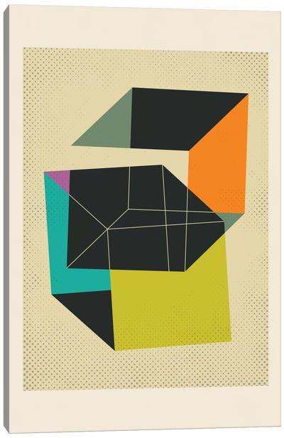 Cubes V Canvas Art Print