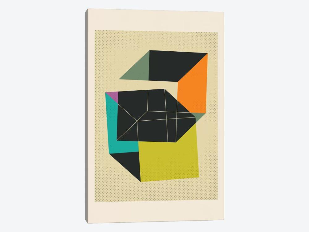 Cubes V by Jazzberry Blue 1-piece Canvas Art