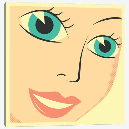 The Princess 3-Piece Canvas #JBL280} by Jazzberry Blue Canvas Art Print
