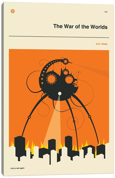 The War Of The Worlds Canvas Art Print