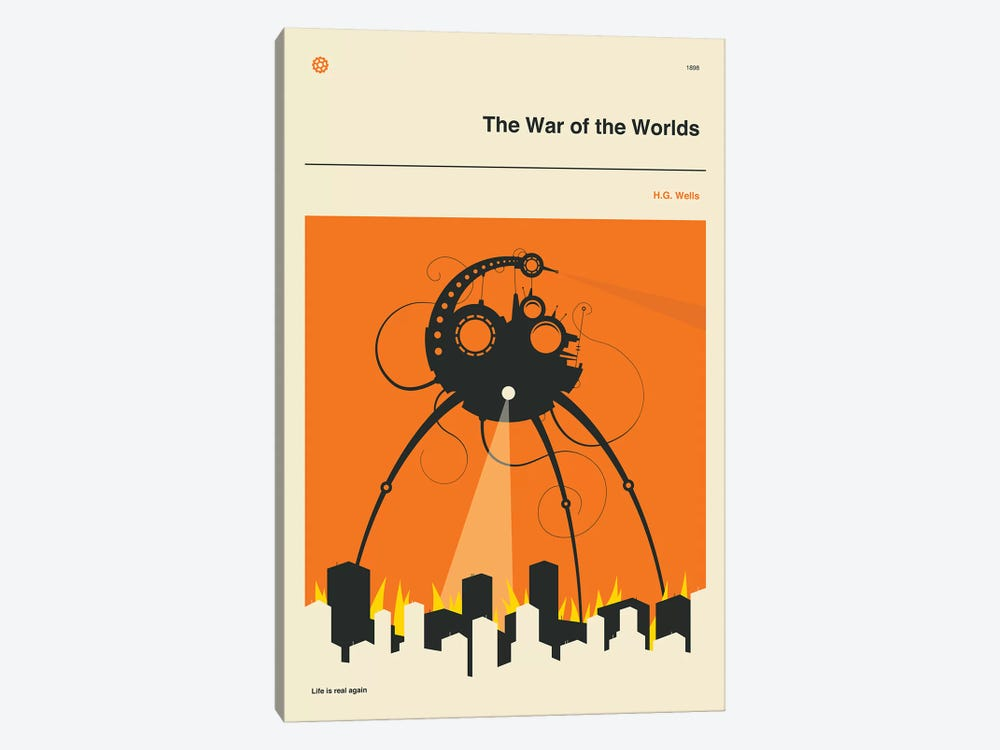 The War Of The Worlds by Jazzberry Blue 1-piece Canvas Wall Art