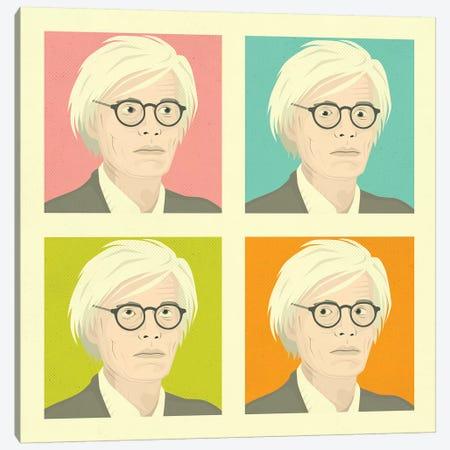 Warhol Canvas Print #JBL288} by Jazzberry Blue Art Print