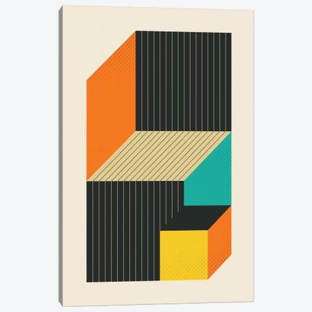 Cubes VI Canvas Print #JBL28} by Jazzberry Blue Art Print