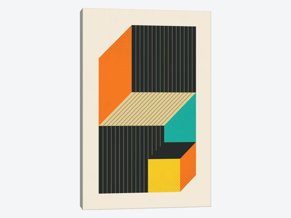 Cubes VI by Jazzberry Blue 1-piece Art Print