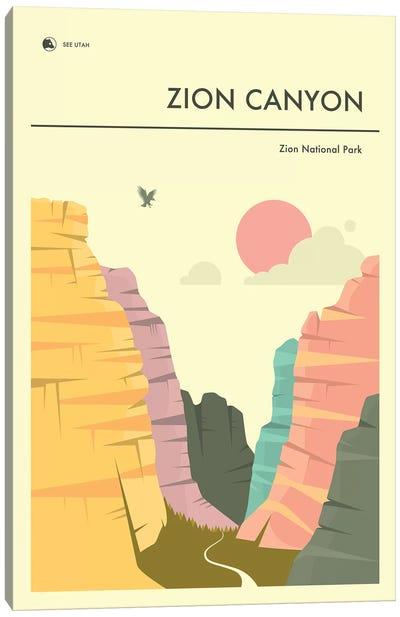 Zion Canyon, Zion National Park II Canvas Art Print