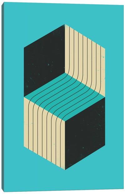 Cubes VII Canvas Art Print