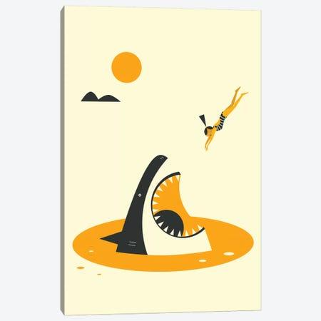 Deep Dive Canvas Print #JBL309} by Jazzberry Blue Canvas Art