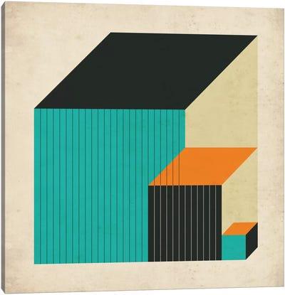 Cubes XI Canvas Art Print