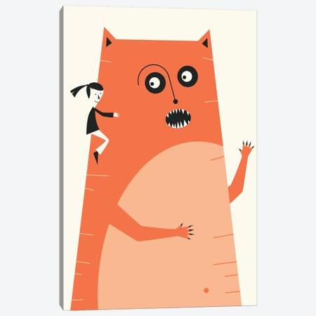 Monster I Canvas Print #JBL324} by Jazzberry Blue Canvas Print