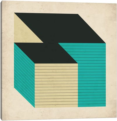 Cubes XII Canvas Art Print