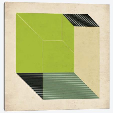 Cubes XIII.V Canvas Print #JBL33} by Jazzberry Blue Canvas Art