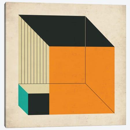 Cubes XIV Canvas Print #JBL34} by Jazzberry Blue Art Print