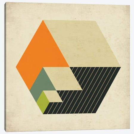 Cubes XV Canvas Print #JBL35} by Jazzberry Blue Canvas Art Print