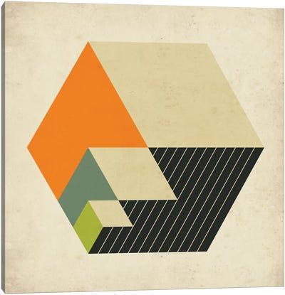 Cubes XV Canvas Art Print