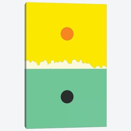 Minimal Landscape XVIII Canvas Print #JBL369} by Jazzberry Blue Canvas Artwork