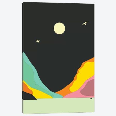 Minimal Landscape XXVIII Canvas Print #JBL376} by Jazzberry Blue Canvas Artwork