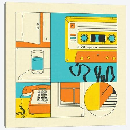 Rewind Canvas Print #JBL380} by Jazzberry Blue Canvas Art