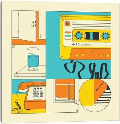 Rewind Canvas Art Print