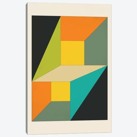 Deja Vu Canvas Print #JBL38} by Jazzberry Blue Canvas Art