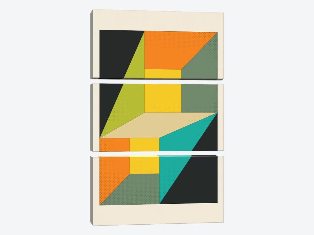 Deja Vu by Jazzberry Blue 3-piece Canvas Art