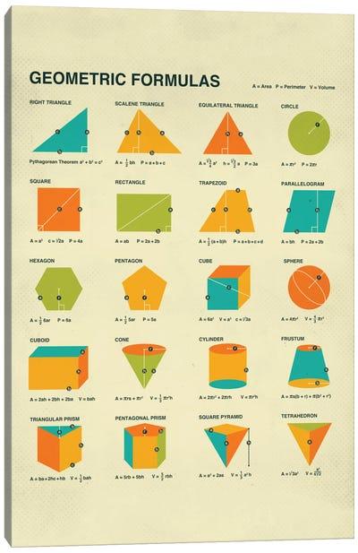 Geometric Formulas Canvas Art Print