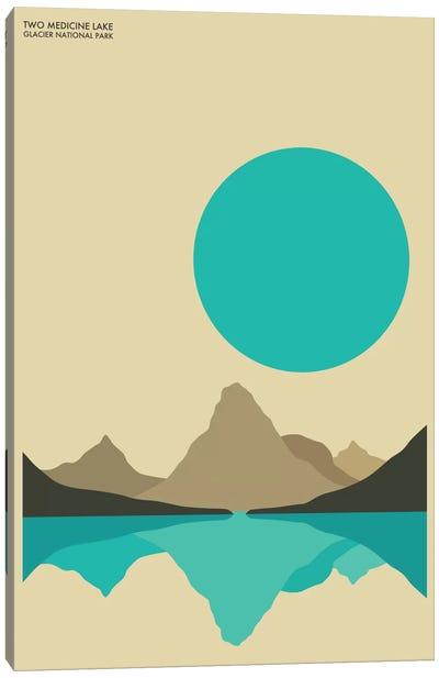 Glacier Canvas Print #JBL48