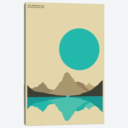 Glacier Canvas Print #JBL48} by Jazzberry Blue Canvas Print