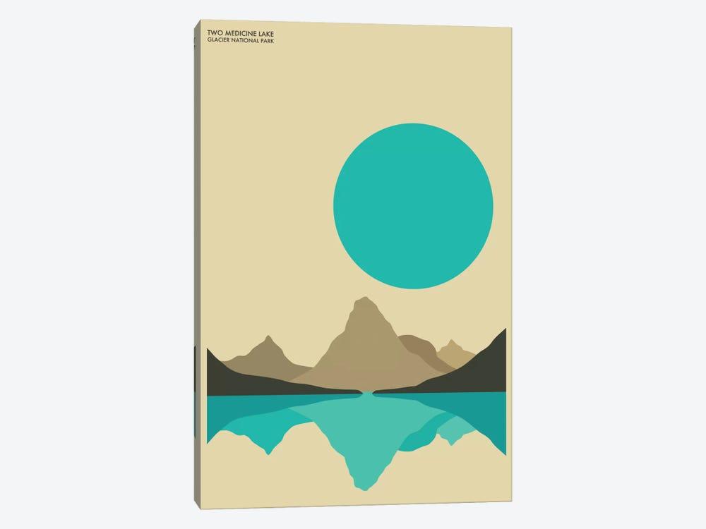Glacier by Jazzberry Blue 1-piece Canvas Print